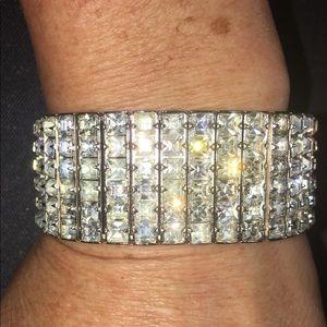 Jewelry - Vintage 1950's Rhinestone Bracelet